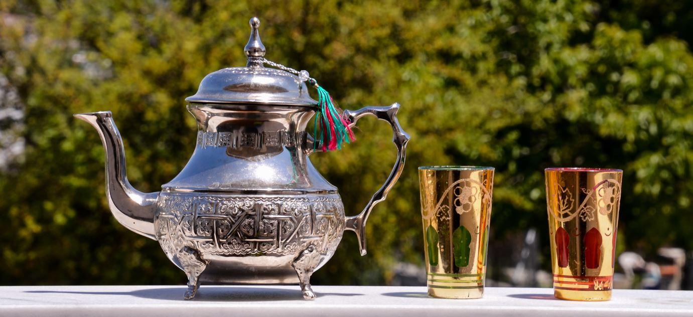marokkaanse theepot