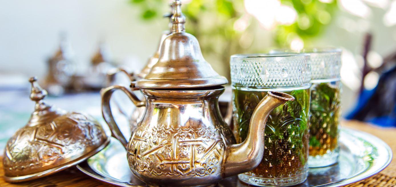 marokkaanse theepotten